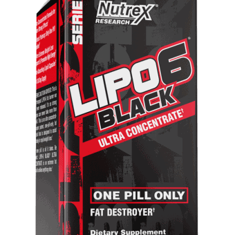 Lipo-6 Black Ultra Concentrade  60 cprs USA