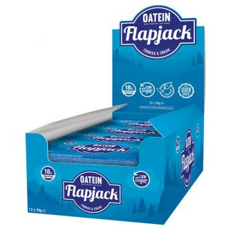 OATEIN LOW SUGAR FLAPJACK 70g