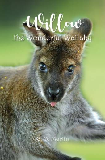 willow the wonderful wallaby, book printing on demand melbourne, self publishing