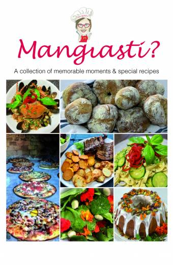 Mangiasti recipe book, book printing on demand melbourne, self publishing
