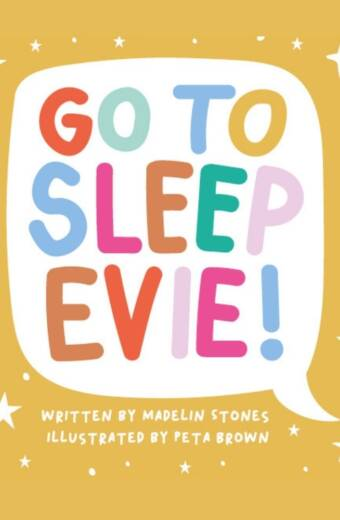 Go to sleep Evie books online cover