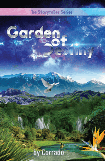 Garden of Destiny Science Fiction Book Cover