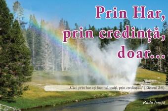 """Prin har, prin credință, doar… – Prelegerea """"Flacăra credinței"""" 8/8"""