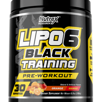 LIPO-6 BLACK TRAINING