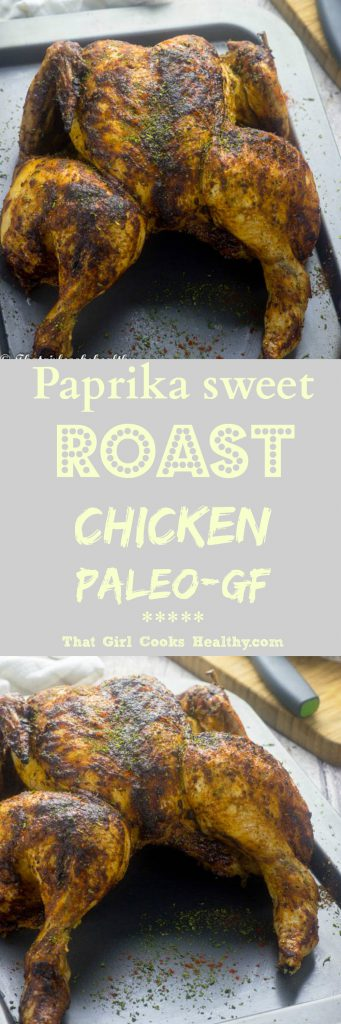 Paprika sweet roast chicken