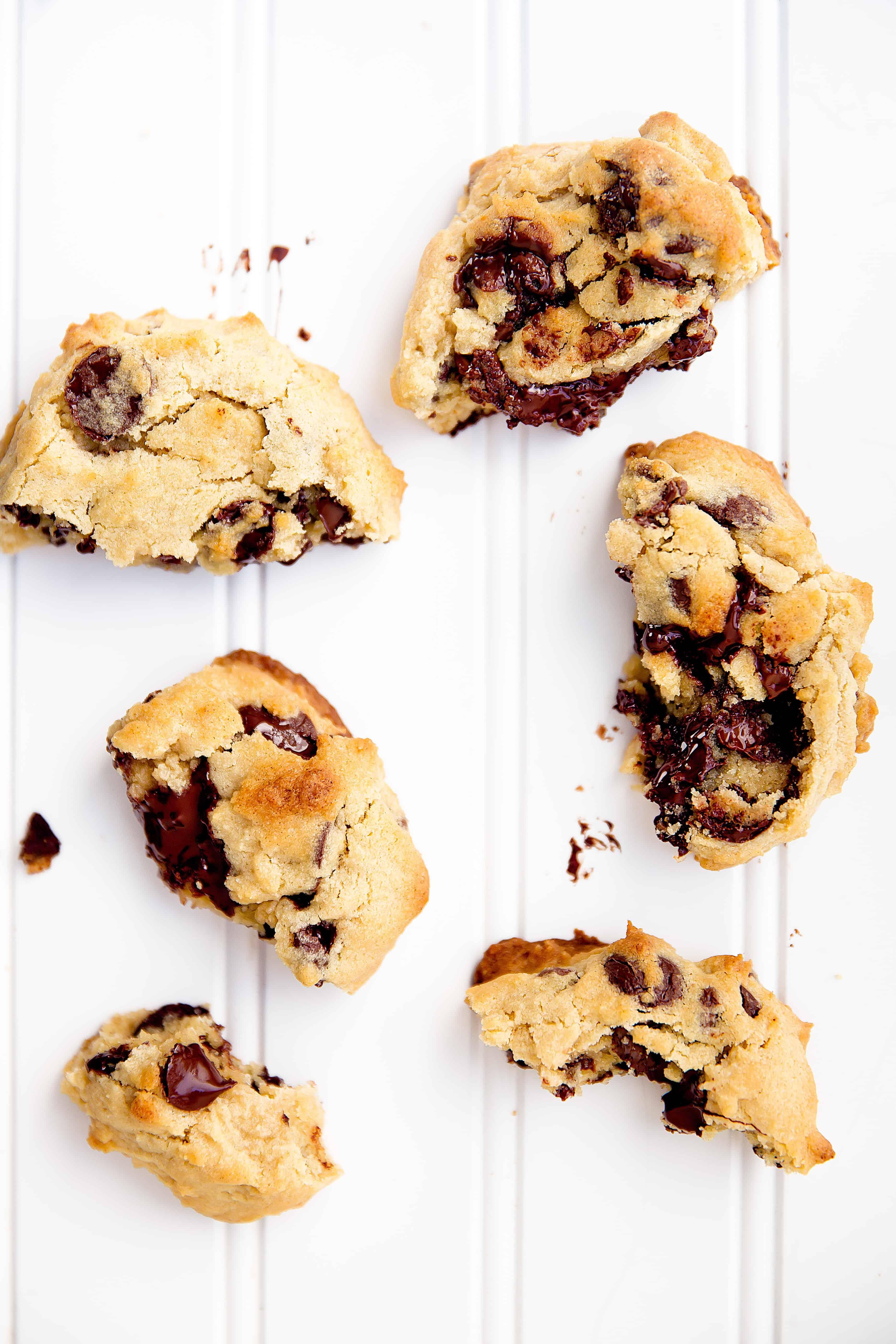 levain bakery cookies on countertop