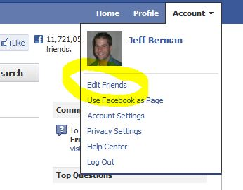 How To Segment Your 'Friends' & Control Your Privacy Settings In Facebook 1