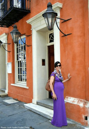 Charleston is a charming babymoon city