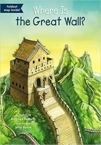 Travel books for kids: where is the great wall focuses on chinese history in a fun and kid-friendly way.