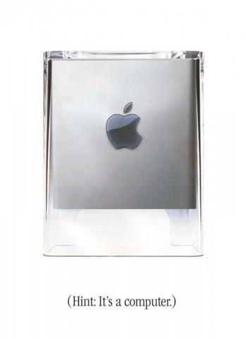 Power Mac  G4 Cube Broschure