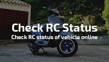 Check Rc Status Of A Vehicle Online