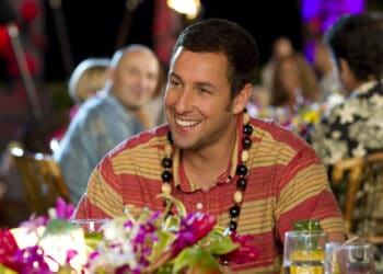 Adam Sandler stars in Columbia Pictures' comedy JUST GO WITH IT.