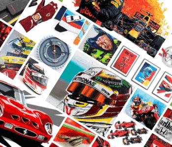 Formula 1 parts, f1 art, memorabilia, posters, prints