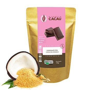 Comprar o melhor Chocolate 70% Cacau Cru Orgânico e Premium - Planeta Cacau