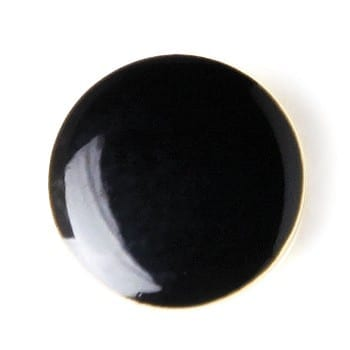 Button Cover FAUX ONYX Button Cover Gold