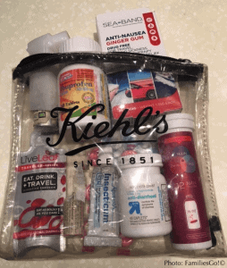Ziplock bags make great personalized first-aid kits