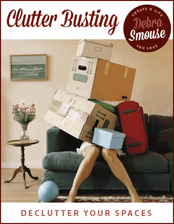 Are you tired of dealing with clutter? 30 Days to Clarity: Clutter Busting can help!