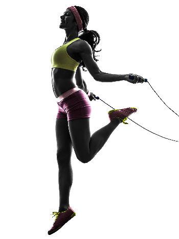 HIIT jump rope routine