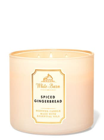 Spiced Gingerbread candle from Bath and Body Works