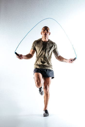 HIIT jump rope exercise
