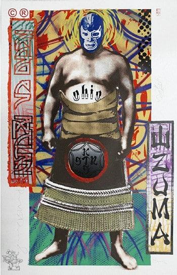 """""""Sumo #1"""" - Limitierter Siebdruck von Richard Duardo"""