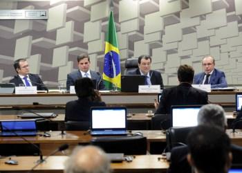 Sabatina dos novos diretores da Aneel no Senado. Foto: Pedro França/Agência Senado