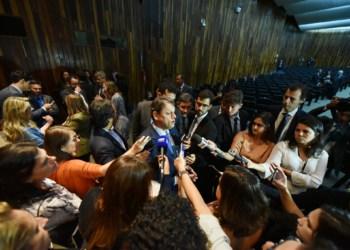 O ministro da Infraestrtura, Tarcísio Gomes Freitas
