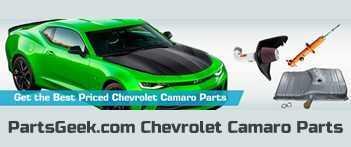 PartsGeek.com Chevrolet Camaro Parts