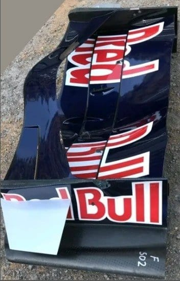 NOW SOLD-Red Bull RB4 full front wing