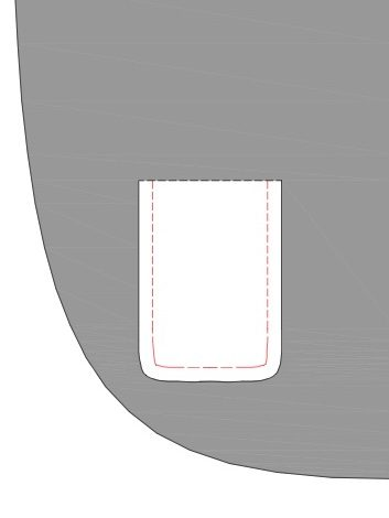 The Tailoress PDF Sewing Patterns - Welt Pocket Tutorial