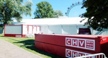 CHV mobile Sanitäranlagen Sanitärcontainer Tank