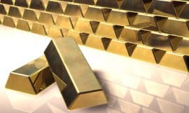 Gold, Goldbarren, BlackRock