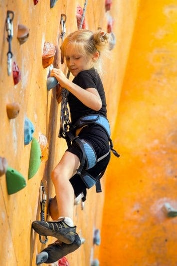 Non-toy gift ideas for kids! | Take the kids rock climbing or participate in another active, adventurous activity. A gift they'll remember!