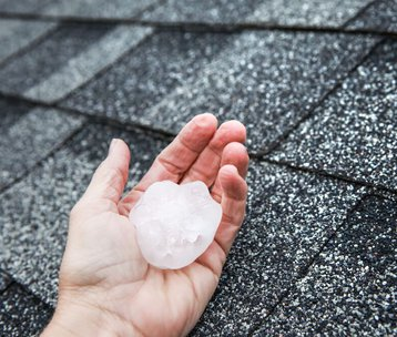 Hailstorm Damages on Roof