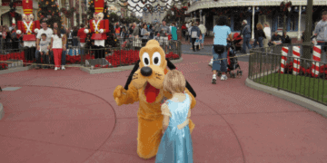 Meeting characters like pluto is one of the best parts of visiting walt disney world