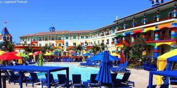 The pool at the legoland hotel, california