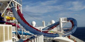 These thrilling slides are part of ncl's newest cruise ship line
