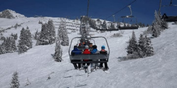 Ski trips with kids offer great family bonding time
