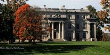 The vanderbilt mansion in dutchess county