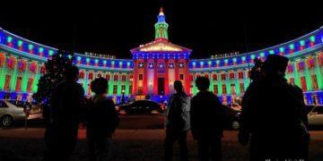 Denver lights up at the holidays