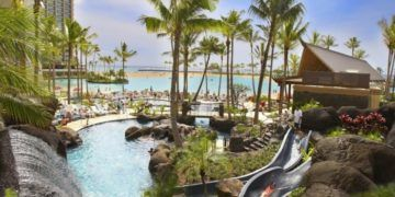 Hilton hawaiian village waikiki beach resort has some good summer deals for families