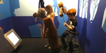 Playing with Muppets at the Museum of the Moving Image