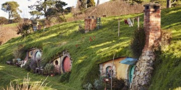 the Shire was built in New Zealand. Visit it by watching the LOTR movies.