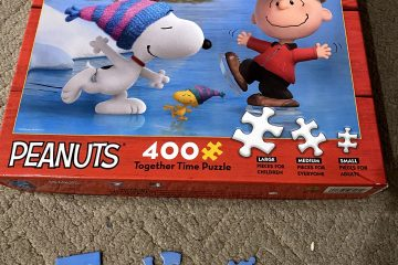 Peanuts Together Time Puzzle