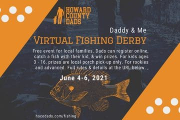 Maryland fishing derby for kids and their father figures June 2021