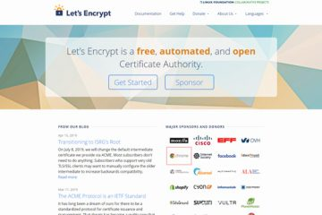Let's Encrypt website