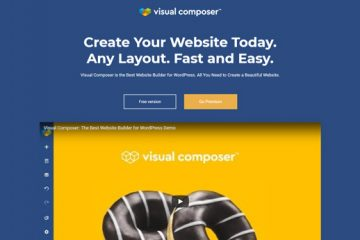 Visual Composer website