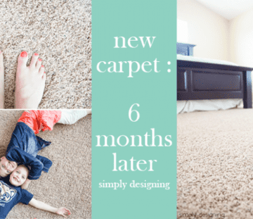 new carpet 6 months later - our review