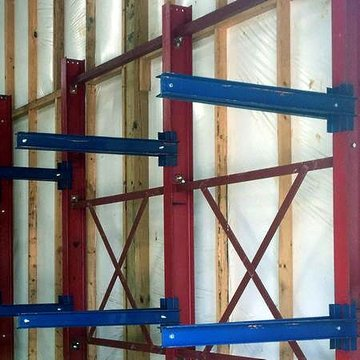 Cantilever Rack Horizontal Arms