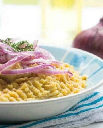 mangu in a bowl